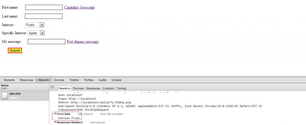 ajax php javascript tutorial1