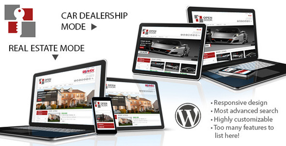 Premium Responsive Real Estate WordPress Theme