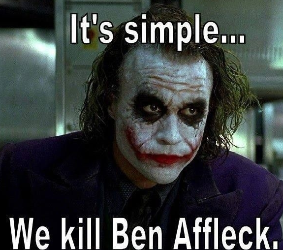 Ben Affleck Batman Meme