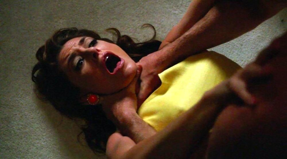 Erotic strangulation clips