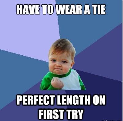 Success Kid Tie