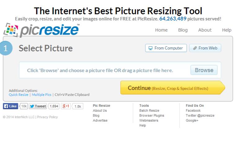 Image Compressing Tools