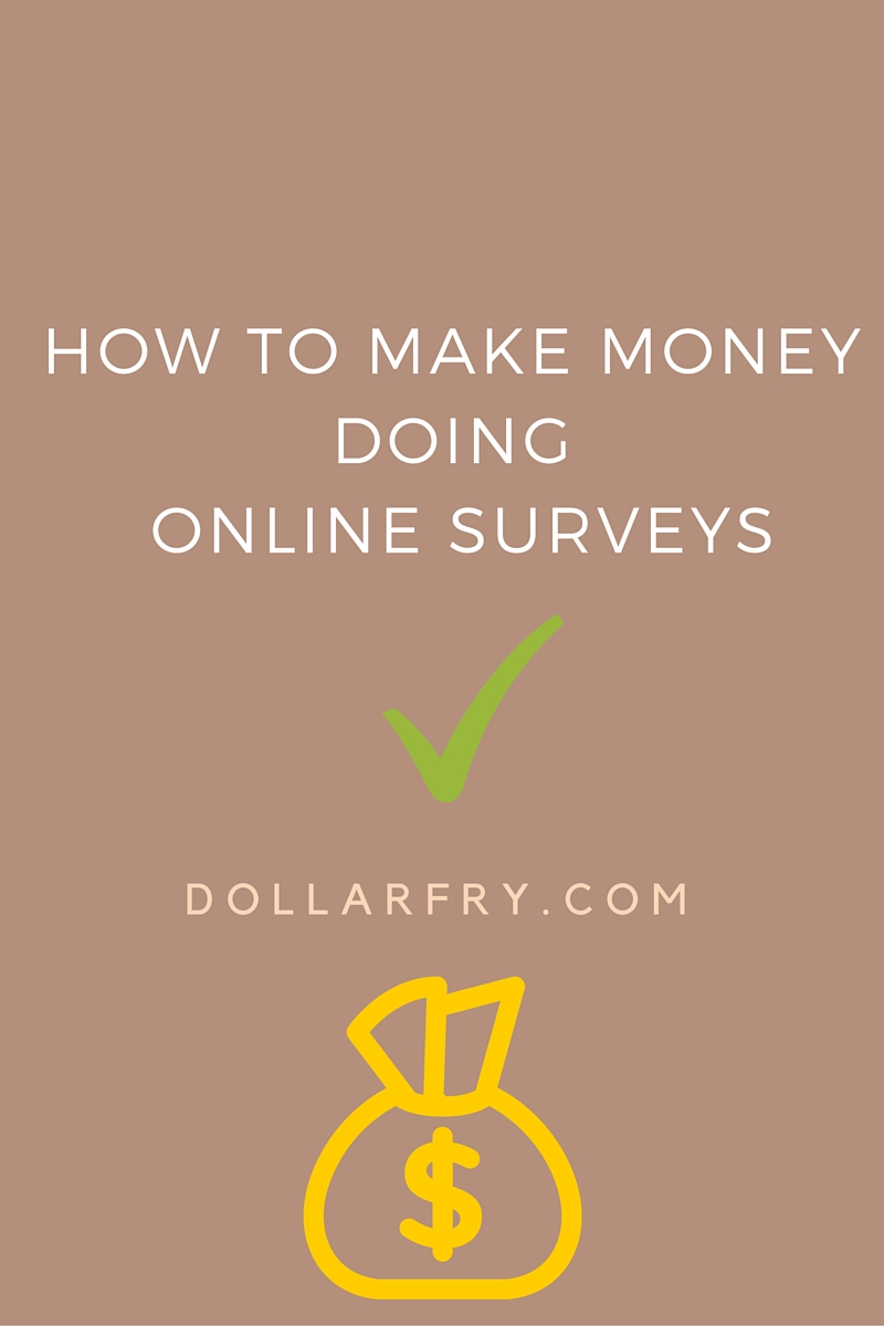 make money doing surveys online paypal