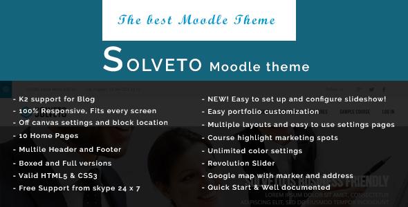 solveto moodle bootstrap theme